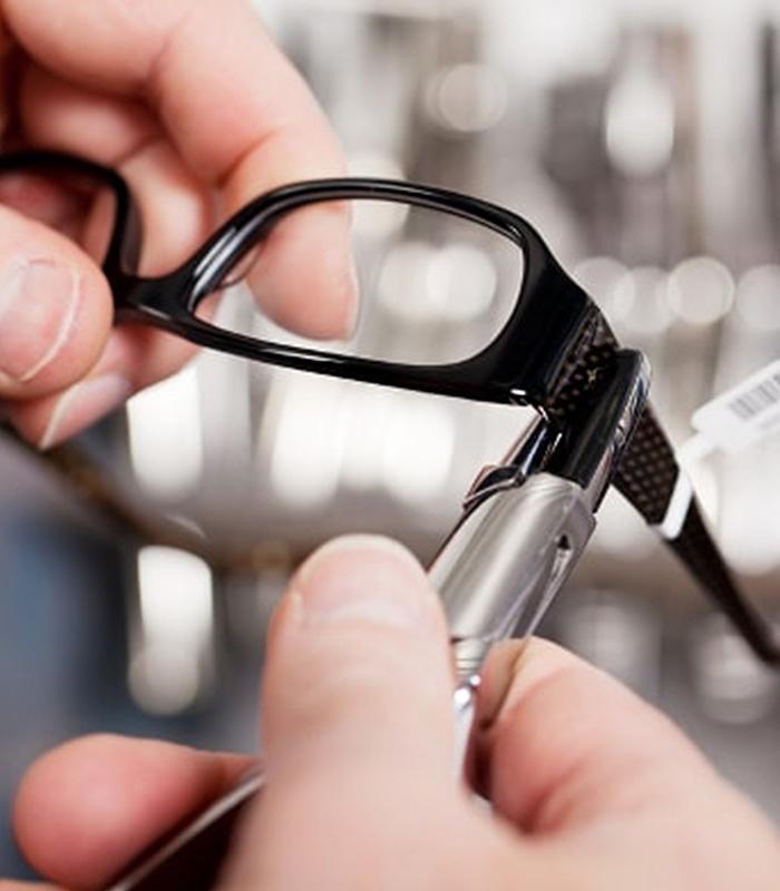 montaj ochelari, reparatii ochelari
