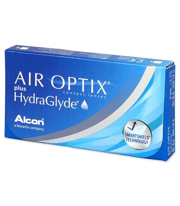 AIR OPTIX plus HydraGlyde