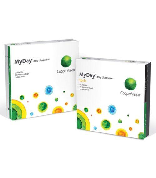 lentile de contact MyDay family