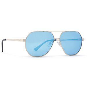 ochelari de soare INVU B1817C Silver, Mirror Icy Blue on Smoke