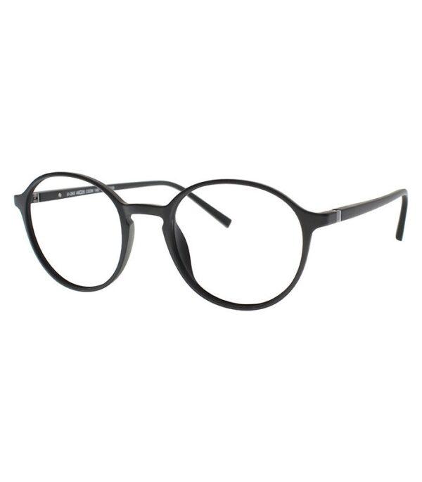 rama ochelari clip on THEMA U-243 C02M 49-21 NEGRU unisex