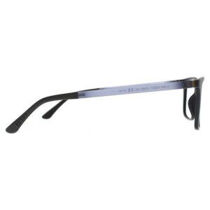 rama ochelari clip on U-244 C02M 53-17 NEGRU barbati