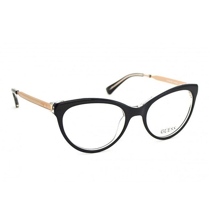Rama ochelari GUESS 2462 BLK - www.ochelarii-tai.ro