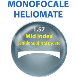 lentile MONOFOCALE heliomate index 1,57; lentile de vedere 1,57; lentile heliomate; lentile de plastic; lentile aeriene; lentile normale