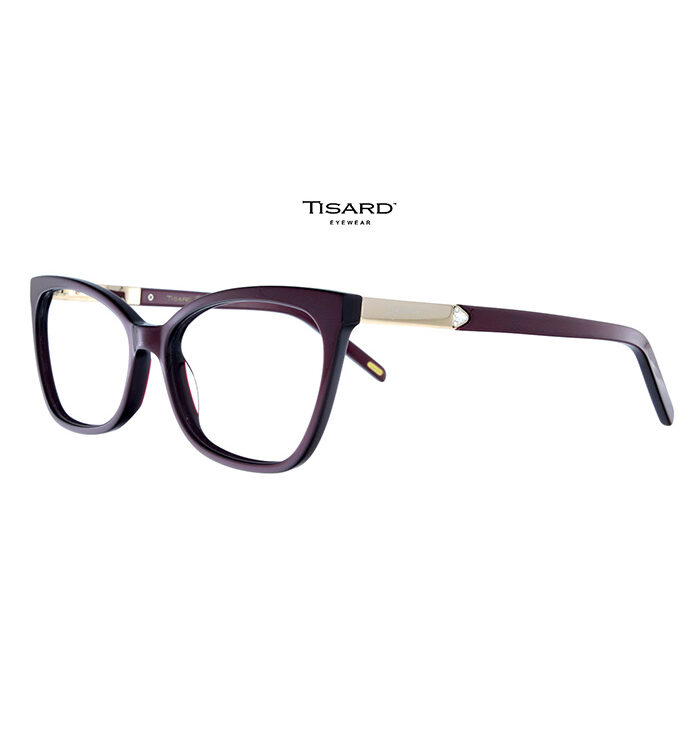 Rama ochelari Tisard T-DR-18 burgundy face parte din colecția de lux denumita Tisard Signature si se distinge prin manopera de înaltă calitate.