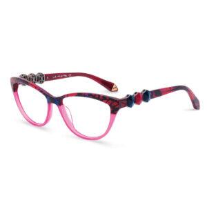 Rame ochelari La Matta 3226 C1 pentru femei sunt o alegere perfectă de ochelari de vedere din minunata colecție La Matta. Dimensiuni 53-15-135.