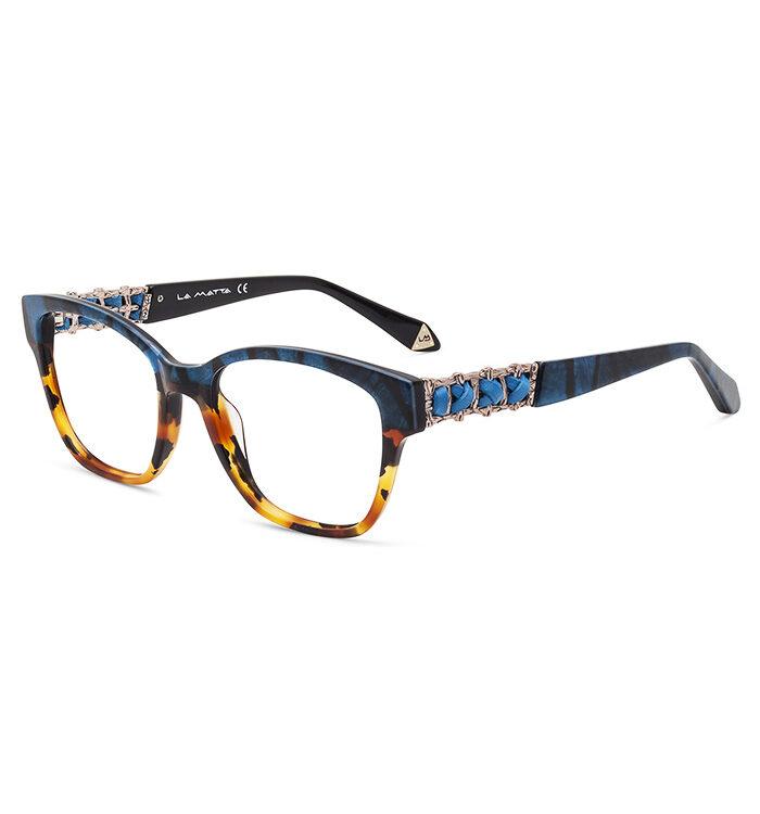Rame ochelari La Matta 3245 C1 pentru femei sunt o alegere perfectă de ochelari de vedere din minunata colecție La Matta. Dimensiuni 52-18-135.