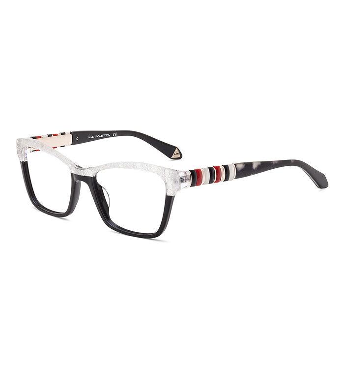 Rame ochelari La Matta 3254 C1 pentru femei sunt o alegere perfectă de ochelari de vedere din minunata colecție La Matta. Dimensiuni 53-17-135.