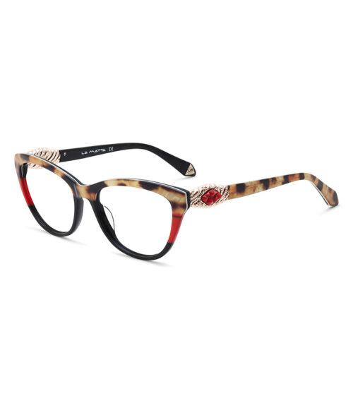 Rame ochelari La Matta 3259 C3 pentru femei sunt o alegere perfectă de ochelari de vedere din minunata colecție La Matta. Dimensiuni 53-17-140.