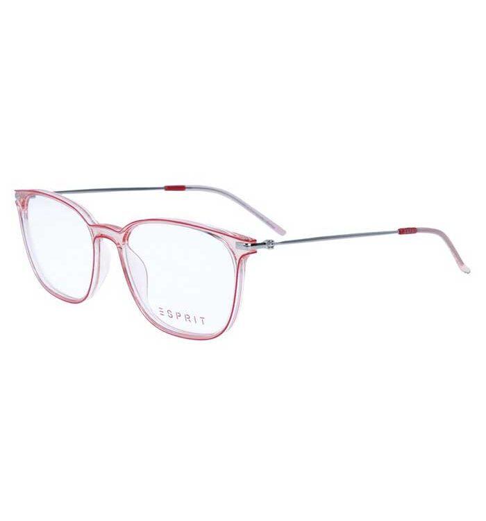 Rama ochelari Esprit ET17122-515 pentru femei are un cadru transparent rosu pentru ochelari din plastic + metal. Fii in tendinte!