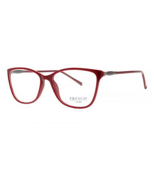 Rama ochelari Fresco 882-3 pentru femei este o rama din acetat de culoare rosie. Ramele Fresco aduc un plus de eleganta oricarei tinute. Produsul este de calitate superioara si fabricat in Polonia.