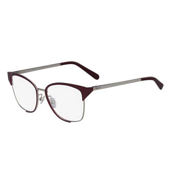 Rama ochelari Salvatore Ferragamo 2157-744 pentru femei sunt ochelari de designer fabricați în Italia. Produsul vine cu garanția producătorului.